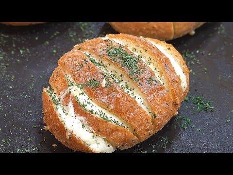 Cream Cheese Garlic Bread – Korean Street Food