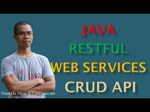 Java RESTful Web Services CRUD API Examples With Jersey And Tomcat