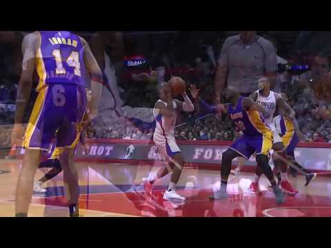 Clippers vs. Lakers Full Highlights   1/14/17