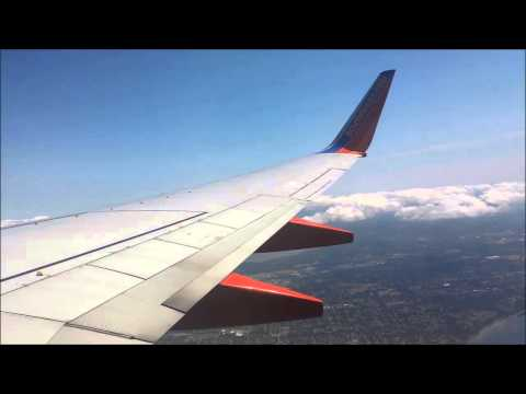 Southwest Airlines - Descent, Approach, and Landing at Seattle-Tacoma International Airport