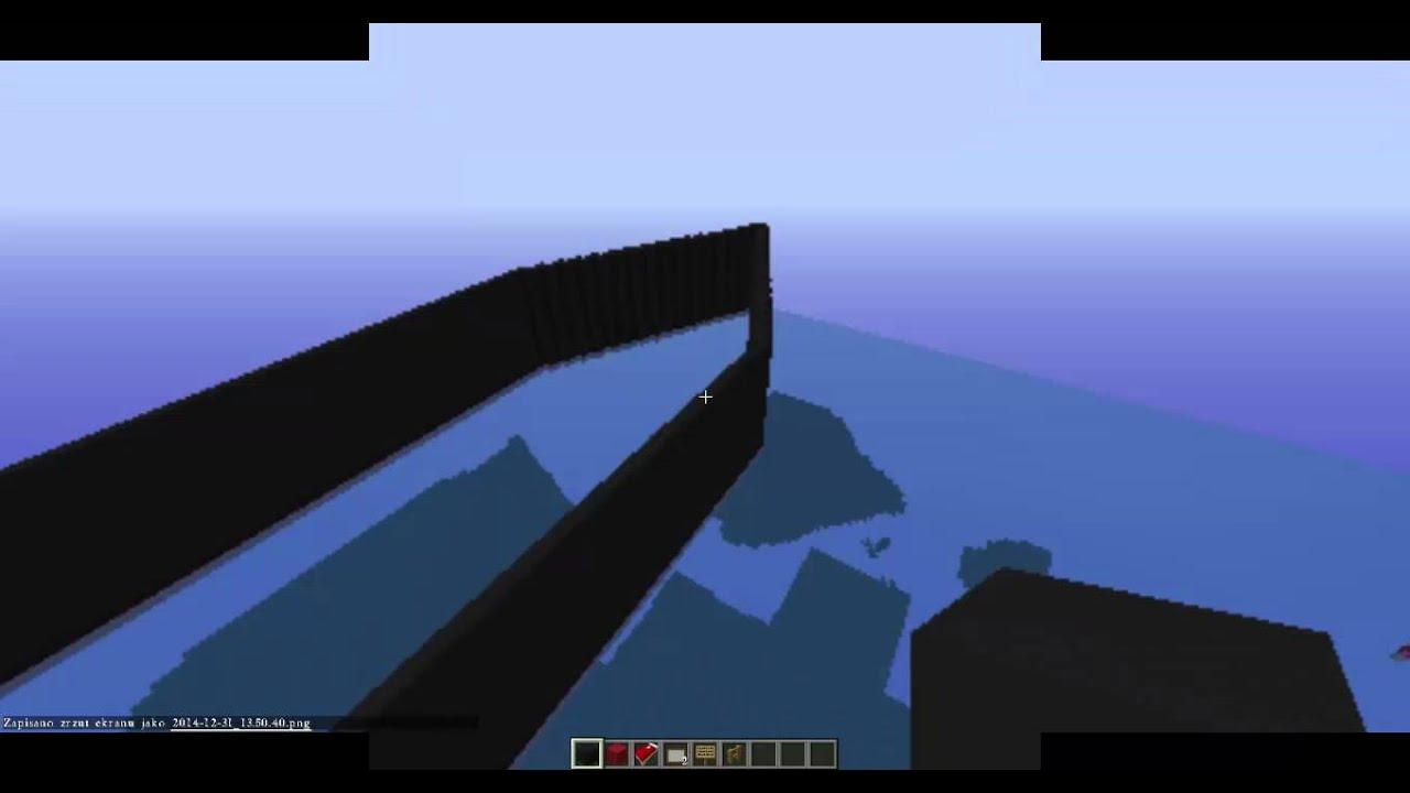 BUDOWA TITANICA W MINECRAFT ODC 1 - YouTube