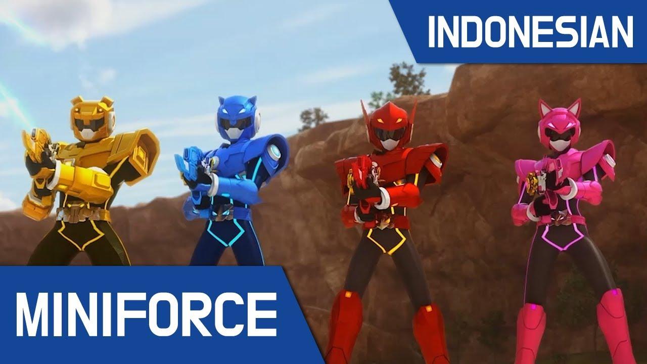 Download [Indonesian dub.] MiniForce S1 EP 03 : Serangan Laba-Laba Mechanon
