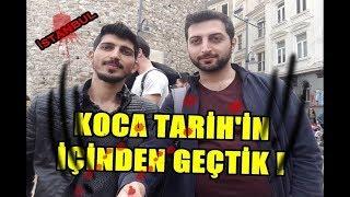 KOCA TARİH'İN İÇİNDEN GEÇTİK ! İSTANBUL PARODİ