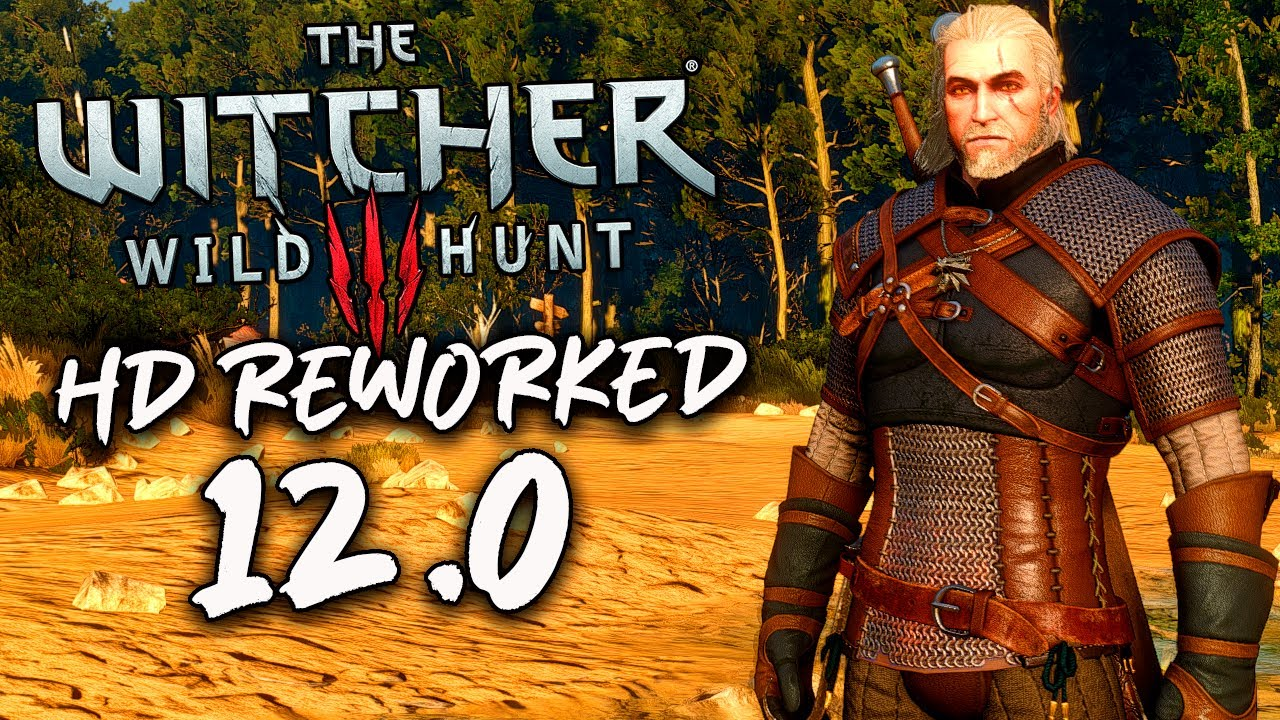 The Witcher 3 | Conferindo o ÍNCRIVEL MOD de TEXTURAS EM HD | HD REWORKED PROJECT 12.0