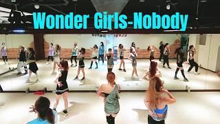 #다이어트댄스 #주부댄스 #추억댄스 Wonder Girls(원더걸스)- Nobody (노바디) dance c…