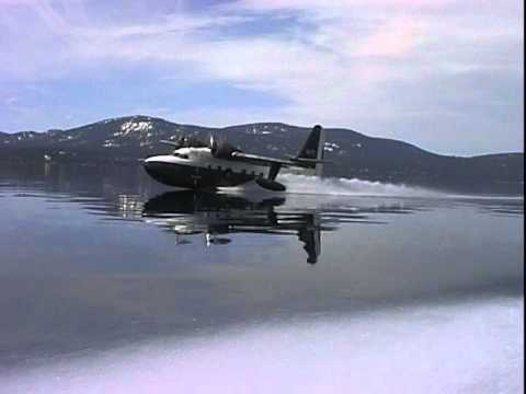 Grumman Albatross on Lake Tahoe