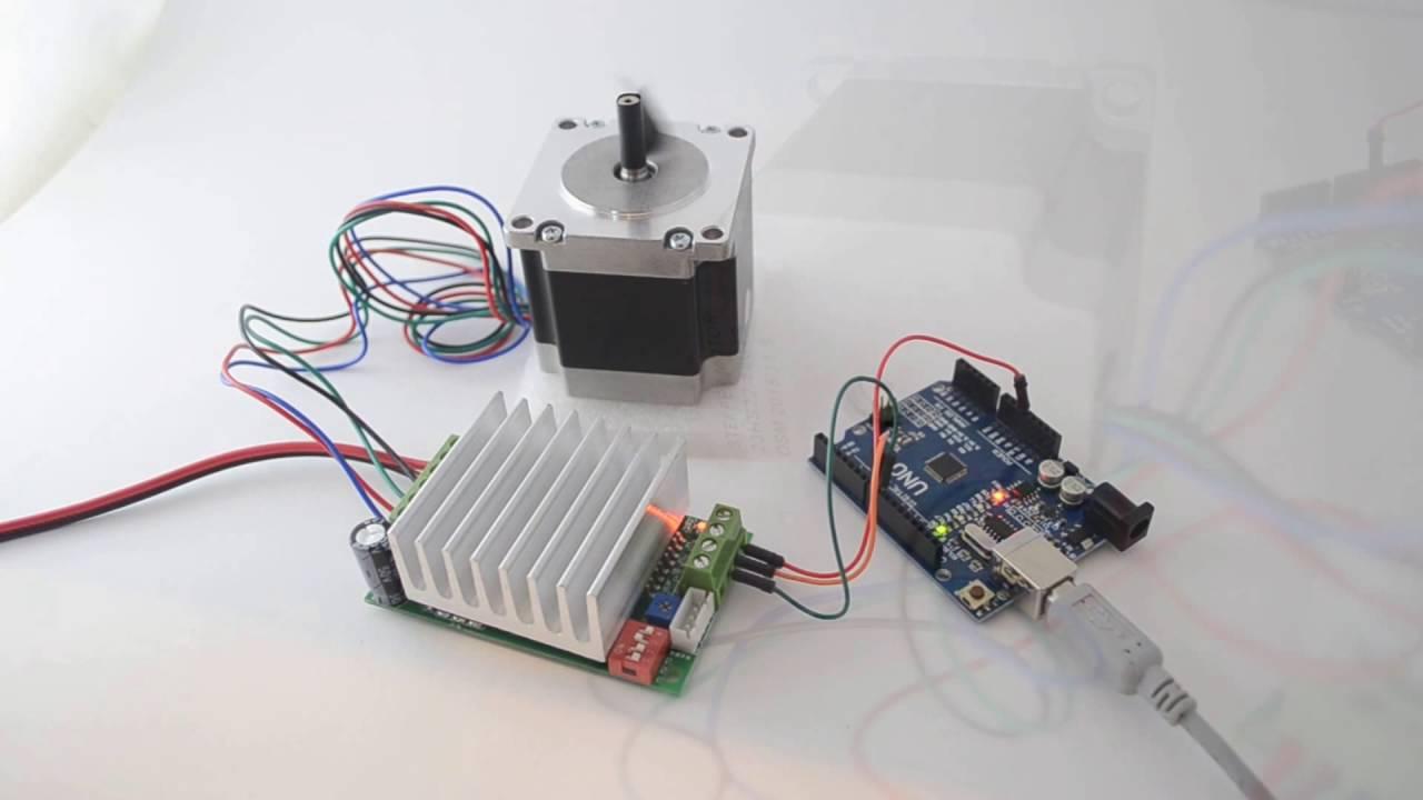 4 Wire Motor Diagram Tb6600 4 5a Driver Nema23 Stepper Motor 23hs22 2804s