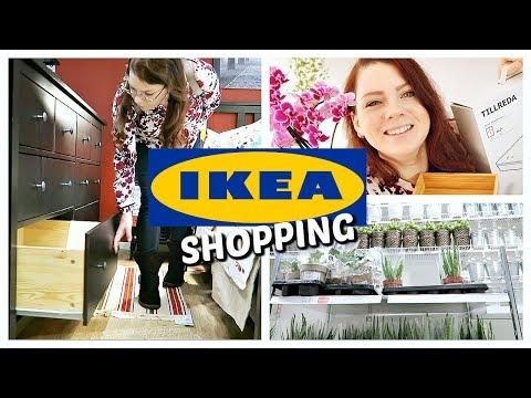 SHOPPING VLOG - En mission chez IKEA pour la commode HEMNES et un cactus | IKEA Shopping & Haul #5