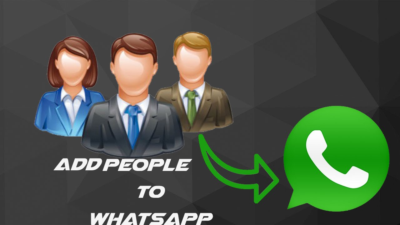 how to add people on whatsapp-how to add someone to whatsapp-2016 New Video  The HowTo Master