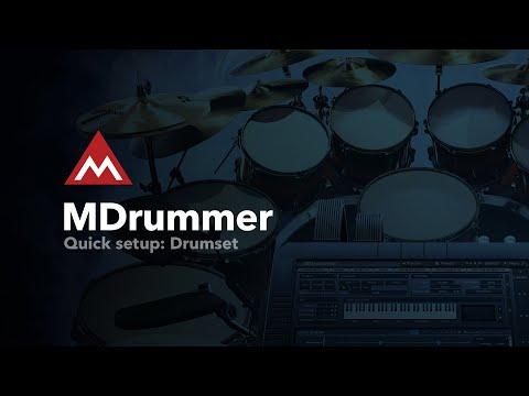 MDrummer #4 - Drumset panel