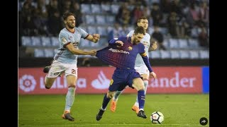 Barca rests most stars, fields messi as reserve and settles for draw with celta