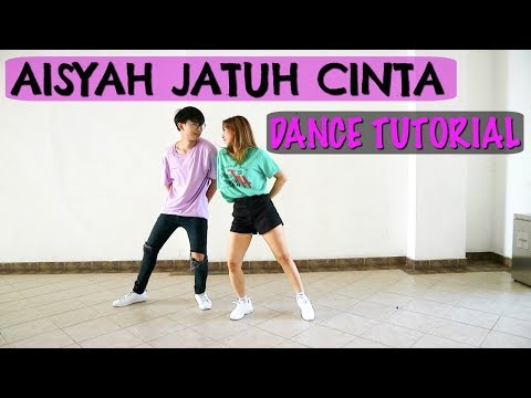 [CHALLENGE & GIVEAWAY!] AISYAH JATUH CINTA DANCE TUTORIAL MIRROR   Natya & Rendy