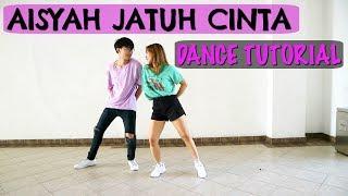 [CHALLENGE & GIVEAWAY!] AISYAH JATUH CINTA DANCE TUTORIAL MIRROR | Natya & Rendy