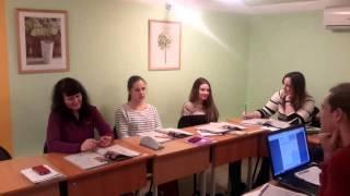Фрагмент урока английского языка в группе Upper-Intermediate  (часть 2)