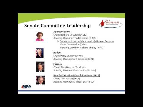 Advocacy Webinar:  How the 113th Congress Impact the Bleeding Disorders Community