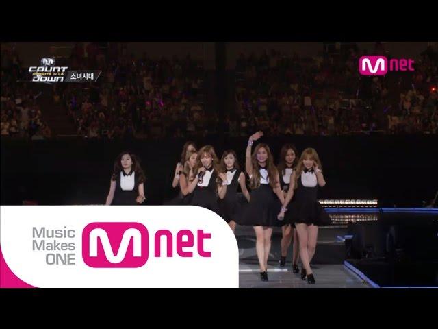 Mnet [엠카운트다운] Ep.389 : 소녀시대(SNSD) - 미스터미스터(Mr.Mr.) + 미스터택시(Mr.Taxi) + Gee @MCOUNTDOWN_140814