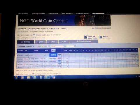 Population Reports on NGC & PCGS - How to Access!