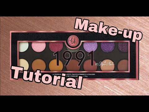 1991 By Alicia Marie | Makeup tutorial