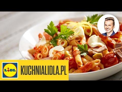 🍝 Penne z tuńczykiem i mozzarellą - Karol Okrasa - Przepisy Kuchni Lidla