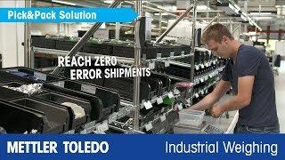 Cómo mejorar los procesos de fabricación con el pesaje. Vídeo de aplicaciones: METTLERTOLEDO - es