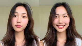 'no makeup' makeup look using korean products