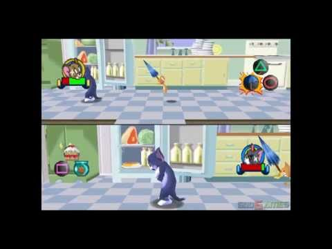 Tom And Jerry In House Trap - Gameplay PSX / PS1 / PS One / HD 720P (Epsxe)