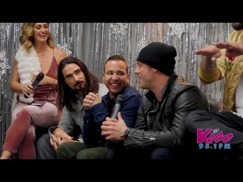 Exclusive Backstreet Boys Interview at KISSmas 2017!