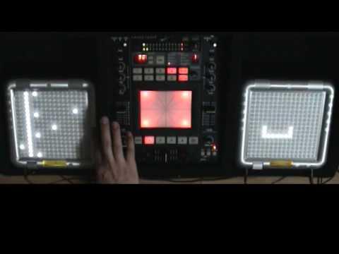 RUBYORLA plays TENORI-ON DJ St...