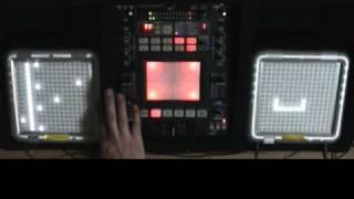 RUBYORLA plays TENORI-ON   DJ Style Pt.1