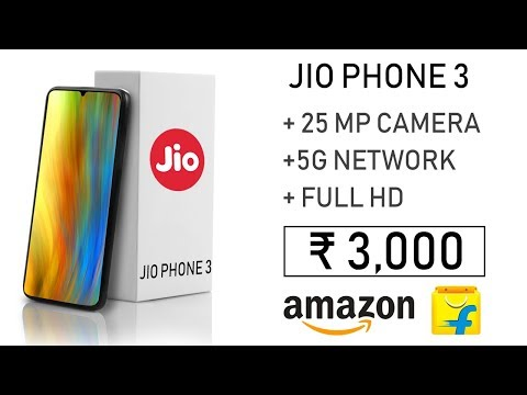 Jio Phone 3 Flex 25MP Back Camera Full HD Display Android 9.0 5G Price Launch Date