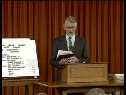 David Pawson - The Acts of The Apostles [1] - Unlocking the bible