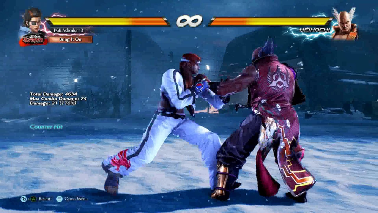 Tekken 7 Hwoarang Combo Act 4 The Demon Heel Youtube