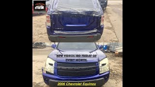 2006-chevrolet-equinox-front-and-rear-collision-repair-time-lapse
