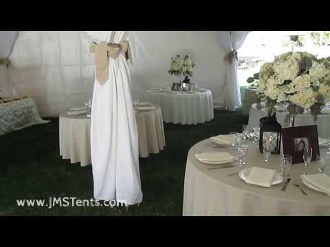 Backyard Tent Wedding for 200+