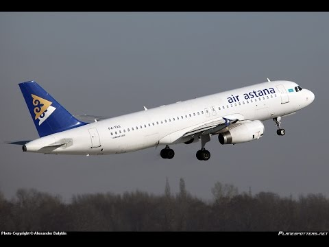 Air Astana A320 , UNOO-UAAA, Microsoft Flight Simulator & Prepar3D , FSX 2015