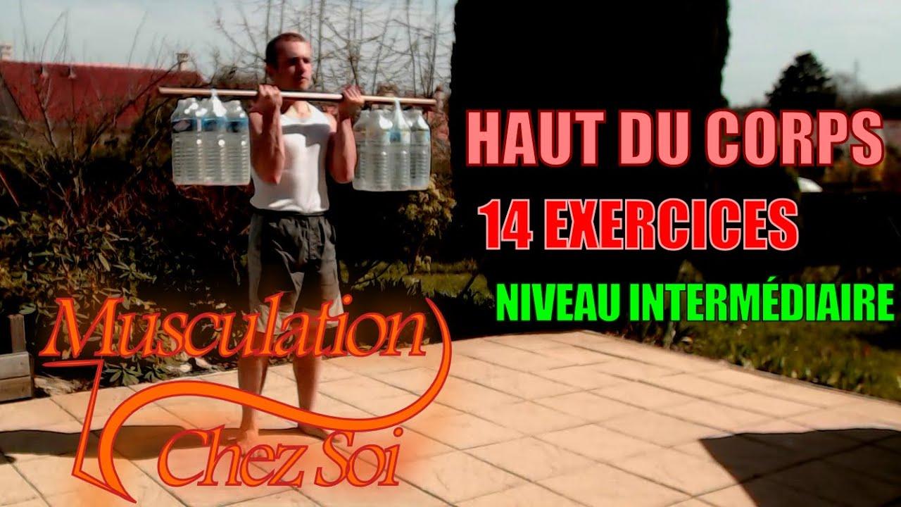 maigrir du haut du corps exercice