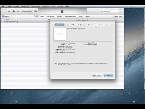 audio datei konvertieren wav mp3 aac itunes super einfach