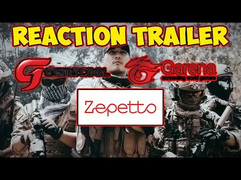 REACTION TRAILER PB GARENA, ZEPETTO, GEMSCHOOL !! KALIAN PILIH MANA !! - POINTBLANK INDONESIA