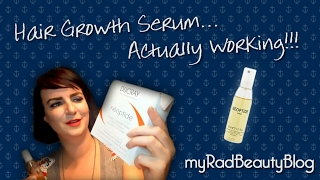 Hair growth serum for women actually working!!! Ducray neoptide lotion. cruelty free