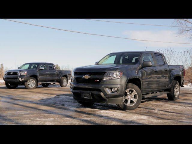 2015 Chevy Colorado Vs 2015 Toyota Tacoma Autoguide Com