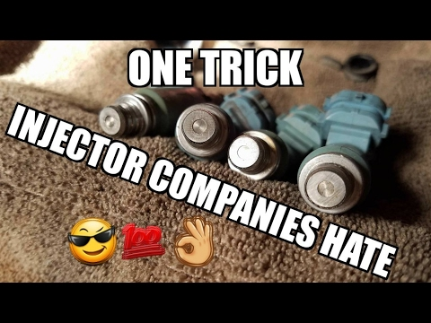 Fastest cleanest way to decap injectors! Subaru WRX light