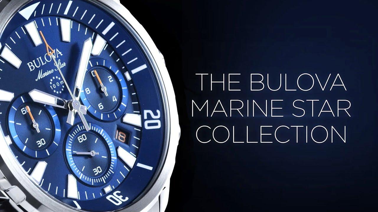 Bulova Marine Star Collection