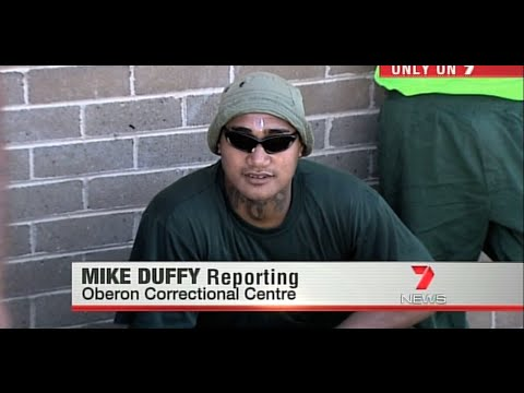 INSIDE PRISON NSW: Oberon Correctional Centre. Mike Duffy Seven News