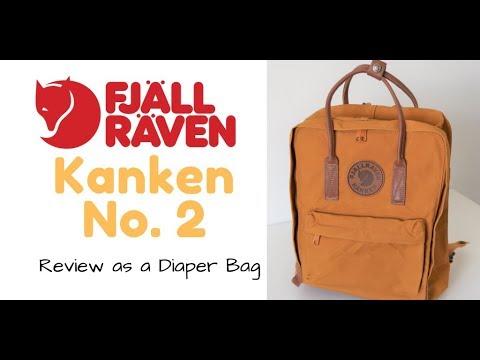 FjallRaven Kanken No. 2 Backpack Review as a Diaper Bag