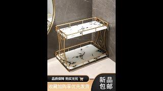 접착식 무타공 욕실 선반 코너 일자 수납 화장실 선반
