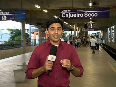 Dupla de assaltantes morre no metrô [PE no Ar - 01.09.15]