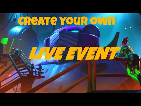 Create Your Own LIVE Event Or ANIMATION In Fortnite Creative (moving Objects)