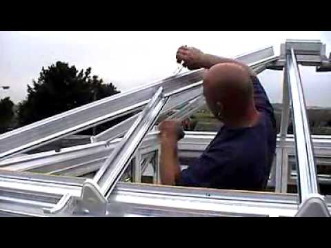 How to Build a Conservatory Clip 2 - www.justdoorsandconservatories.com