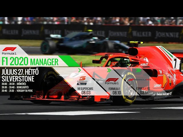 SIMCO - F1 2020 Manager Round 10: Silverstone
