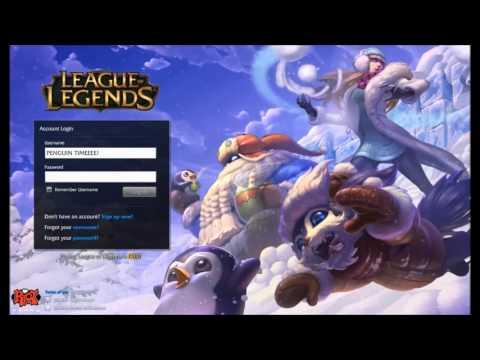 League of Legends Snowdown Showdown 2015 Login Screen + Music